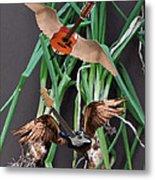 Green Onions Metal Print by Eric Kempson