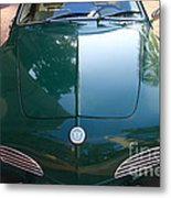 Green Volkswagon Karmann Ghia . 7d10088 Metal Print