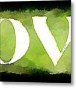 Green With Love Metal Print
