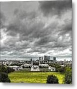 Greenwich And Docklands Hdr Metal Print