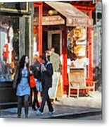 Greenwich Village Bakery Metal Print