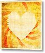 greeting card Valentine day Metal Print