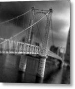 Greig Street Bridge Metal Print