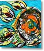 Gretchen Fish A Citrus Twist Metal Print