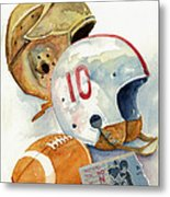 Gridiron Ghosts Metal Print