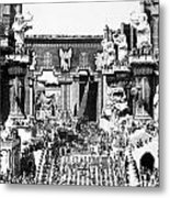 Griffith: Intolerance 1916 Metal Print