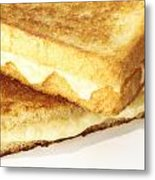 Grilled Cheese Sandwich Metal Print