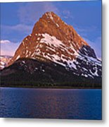 Grinnel Point At First Light Metal Print