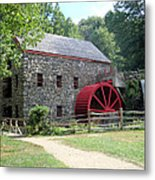Grist Mill  Massachusetts Metal Print by Patricia Urato