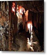 Grotte Magdaleine South France Region Ardeche Metal Print