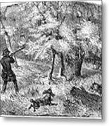 Grouse Hunting, 1855 Metal Print