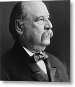 Grover Cleveland - President Of The United States Metal Print by International  Images