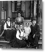 Grover Cleveland And His Family, 1907 Metal Print