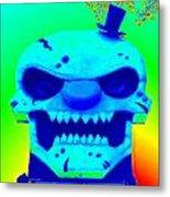 Grunge City Demon 1 Metal Print