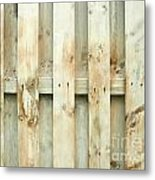 Grungy Old Fence Background Metal Print