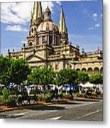 Guadalajara Cathedral Metal Print