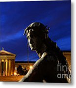 Guardian Angel Of Art Metal Print by Paul Ward