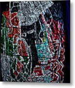 Guardian Knight  Of The Orient Metal Print