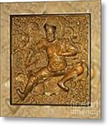 Guardian Warrior - It Can't Hurt To Have Your Own Metal Print