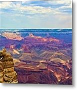 Guardians Of The Canyon Metal Print