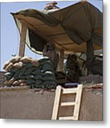 Guards From The United Arab Emirates Metal Print
