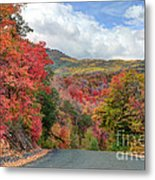 Guardsman Pass To Midway In The Fall - Utah Metal Print