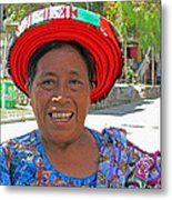 Guatemalan Village Woman Metal Print