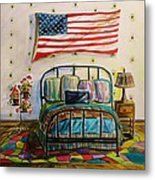 Guest Bedroom Metal Print