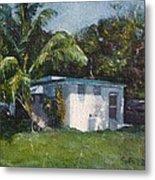 Guest House In Aguada Metal Print
