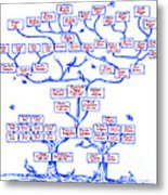 Guggenheim Family Tree Metal Print