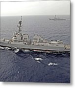 Guided Missile Destroyers Uss Dewey Metal Print