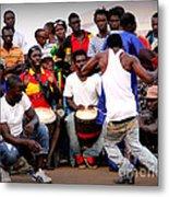 Guinean Dancing  Metal Print