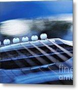 Guitar Abstract 4 Metal Print