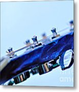 Guitar Abstract 5 Metal Print
