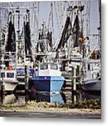 Gulf Boats Metal Print