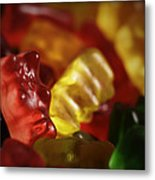 Gummi Bears Metal Print by Rick Berk