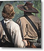 Guns By Our Side We Ride Metal Print