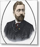 Gustave Eiffel, French Architect Metal Print