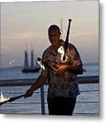 Guy Collins At Key West Metal Print