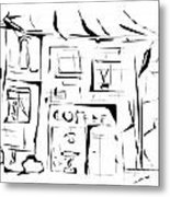 House 092 - Marucii Metal Print