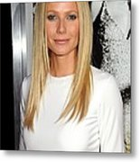Gwyneth Paltrow At Arrivals For Country Metal Print