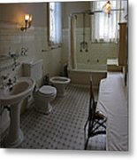 Haas Lilienthal House Victorian Bath - San Francisco Metal Print by Daniel Hagerman