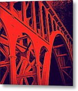 Haceta Head Bridge Metal Print