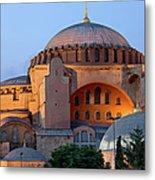 Hagia Sophia At Dusk Metal Print by Artur Bogacki