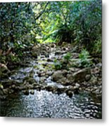 Haiku Stream Metal Print
