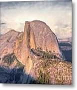 Half Dome Portrait Metal Print