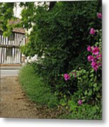 Half-timered House Lavenham Metal Print