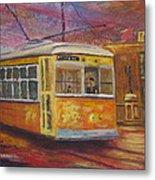 Halifax Trolley Metal Print