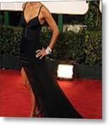 Halle Berry  Wearing A Nina Ricci Gown Metal Print