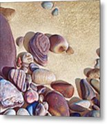 Hallett Cove's Stones Metal Print